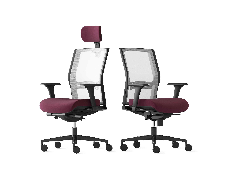 Poltrone Ufficio Reggio Emilia.Sedia Per Ufficio Adatta Ad Un Uso Intensivo Elleci Office Jex