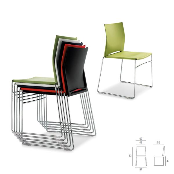 sedia-attesa-impilabile