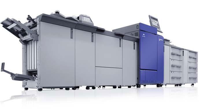 La stampa digitale a colori per grandi volumi.